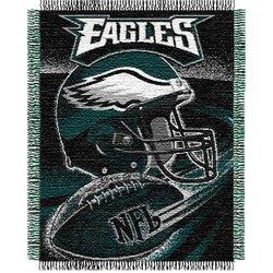 Philadelphia Eagles Triple Woven Jacquard NFL Throw   Nor1Phi-019Series
