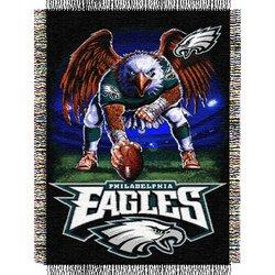 Philadelphia Eagles Triple Woven Tapestry NFL Throw    Nor1Phi-051TPS