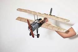 """SimpleYears Bi plane w/cloth wings large 24""""  JL298"""