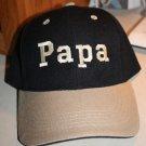 Papa Embroidered Baseball Hat