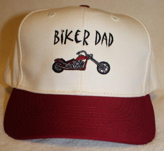 Biker Dad Embroidered Baseball Hat
