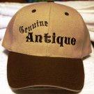Genuine Antique- Embroidered Baseball Hat