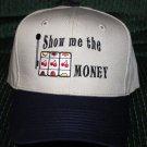 Embroidered Baseball Hat- SLOT MACHINE