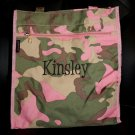 Personalized Pink Camo Tote Bag Monogrammed