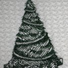 Embroidered Christmas Tree Kitchen Towel