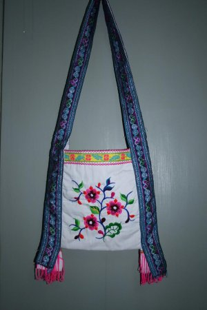 Hand-embroidered Bag of Chinese Ethnic Minority