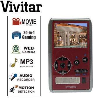 VIVITAR® 5.0MP DIGITAL CAMERA & MULTI-MEDIA DEVICE