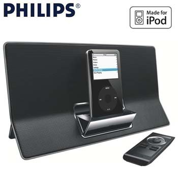 PHILIPS® DOCKING STATION FOR iPOD
