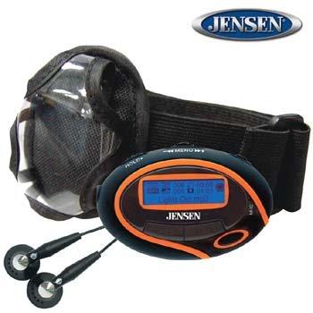 JENSEN® 1GB SPORT DIGITAL AUDIO PLAYER & FM TUNER