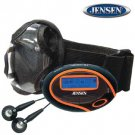 JENSEN® 1GB SPORT DIGITAL AUDIO PLAYER & FM TUNER