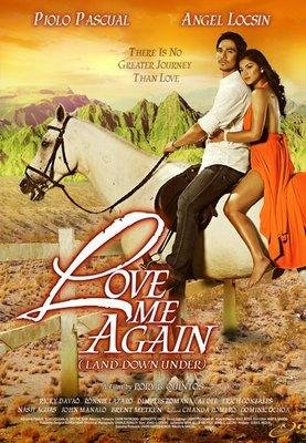 2009 LOVE ME AGAIN (LAND DOWN UNDER) MOVIE Filipino Tagalog DVD  PIOLO PASCUAL ANGEL LOCSIN