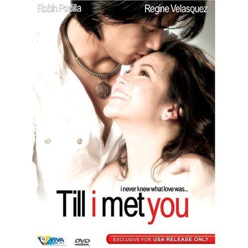 *SALE*  NEW TILL I MET YOU FILIPINO DVD REGINE VELASQUEZ ROBIN