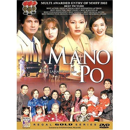 NEW MANO PO Filipino DVD MARICEL SORIANO RICHARD GOMEZ