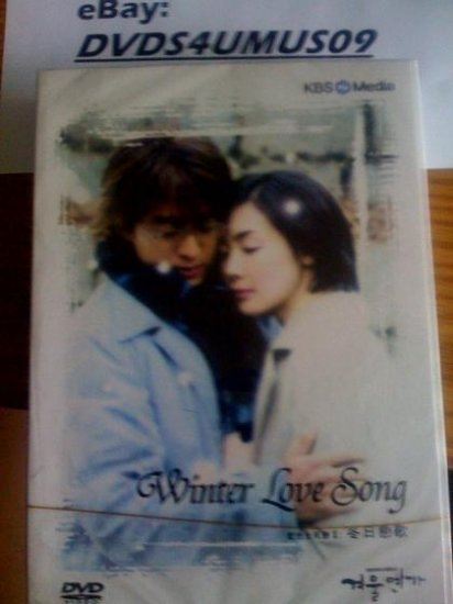 2008 NEW WINTER LOVE SONG SONATA [10DISC] Korean Drama DVD