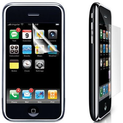 "New 3X 3.5"" Screen Protector Guard LCD Film for iPhone 3G 3GS Sciphone CECT i68 i9"