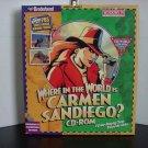 WORLD CARMEN SANDIEGO? CD ROM PC or MAC