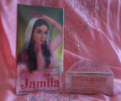 Jamila Henna 100g   Jamila Henna Summer 2010 Crop BAQ