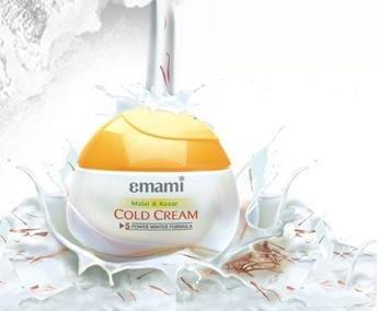 Emami Malai Kesar Cold Cream with Herbs 60ml