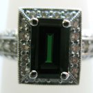 Tsavorite Statement Ring