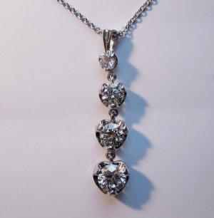 4 Diamond Pendant