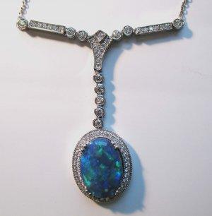 Elegant Opal Necklace