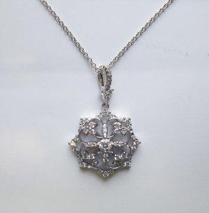 Ornate Diamond Pendant