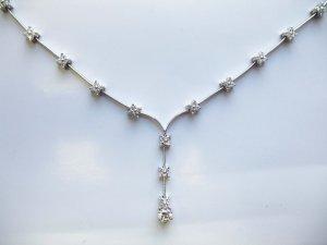 Delicate Diamond Necklace