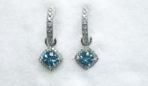 Blue Tourmaline Ear Drops