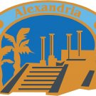 Alexandria Passport Style Wall Graphic