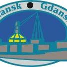 Gdansk Passport Style Wall Graphic
