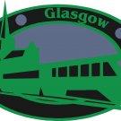 Glasgow Passport Style Wall Graphic