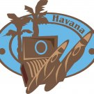 Havanna Passport Style Wall Graphic