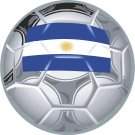 Argentina Soccer Ball Flag Wall Decal