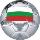 Bulgaria Soccer Ball Flag Wall Decal
