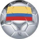 Ecuador Soccer Ball Flag Wall Decal