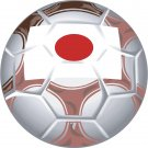 Japan Soccer Ball Flag Wall Decal