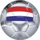 Luxembourg Soccer Ball Flag Wall Decal