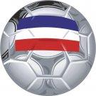 Yugoslavia Soccer Ball Flag Wall Decal