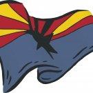 Arizona State Flag Wall Decal