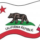 California State Flag Wall Decal