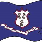 Connecticut State Flag Wall Decal