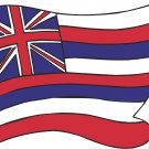 Hawaii State Flag Wall Decal