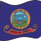 Idaho State Flag Wall Decal