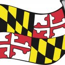 Maryland State Flag Wall Decal