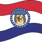 Missouri State Flag Wall Decal