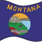 Montana State Flag Wall Decal