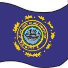 New Hampshire State Flag Wall Decal