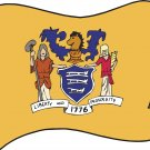 New Jersey State Flag Wall Decal