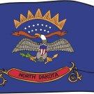 North Dakota State Flag Wall Decal