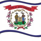 West Virginia State Flag Wall Decal